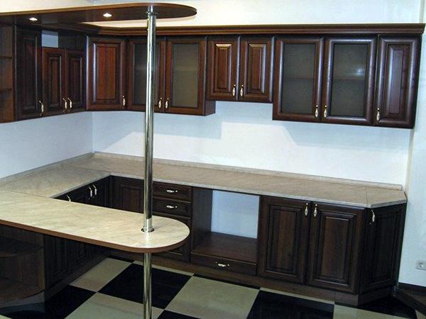 Кухни угловые с барной стойкой дизайн цена